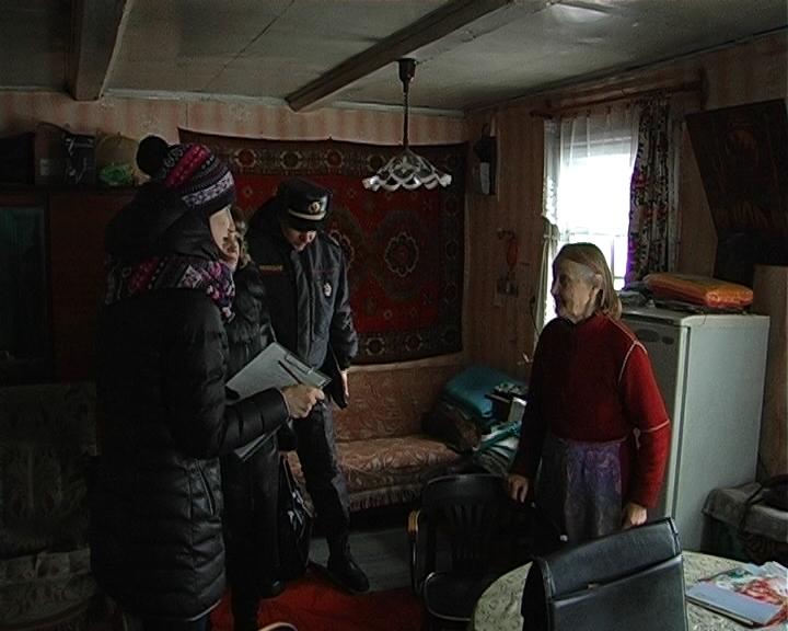 Совместный рейд служб Полотчины по населённым пунктам района