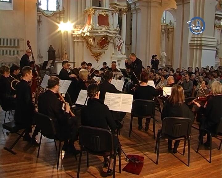 У Полацку адкрыўся XXIX Міжнародны фестываль старадаўняй і сучаснай камернай музыкі