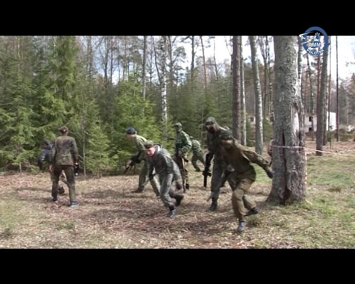 На Полотчине прошёл турнир по лазертагу