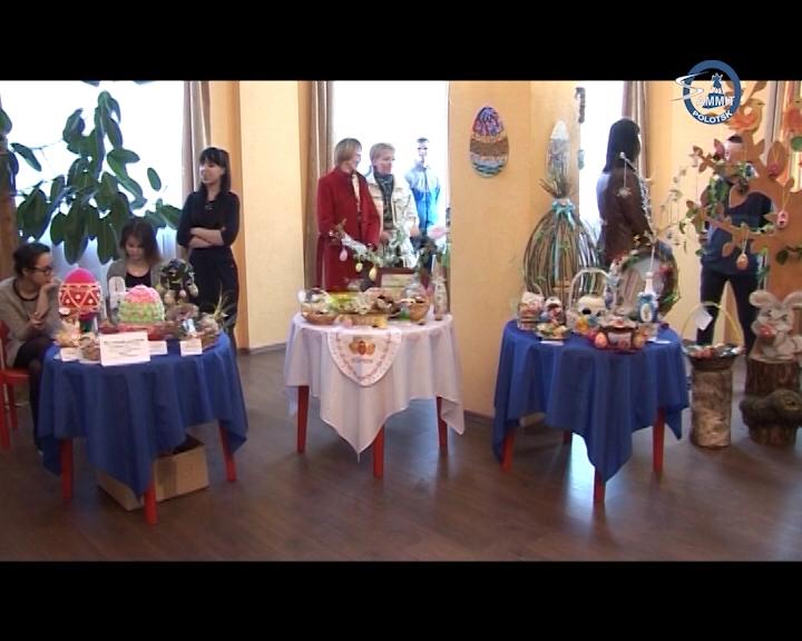 В Полоцке прошла традиционная ежегодная фестиваль-выставка «Пасхальный кулич»