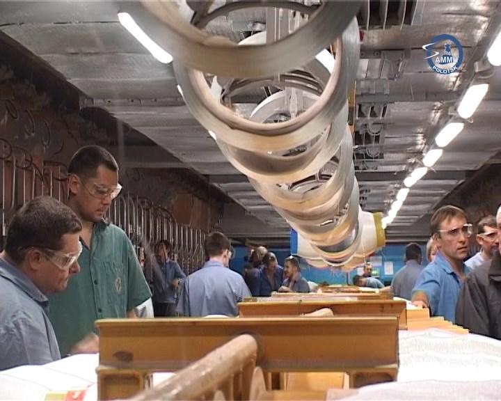 На предприятии «Полоцк-Стекловолокно» ввели в эксплуатацию новую стекловаренную печь