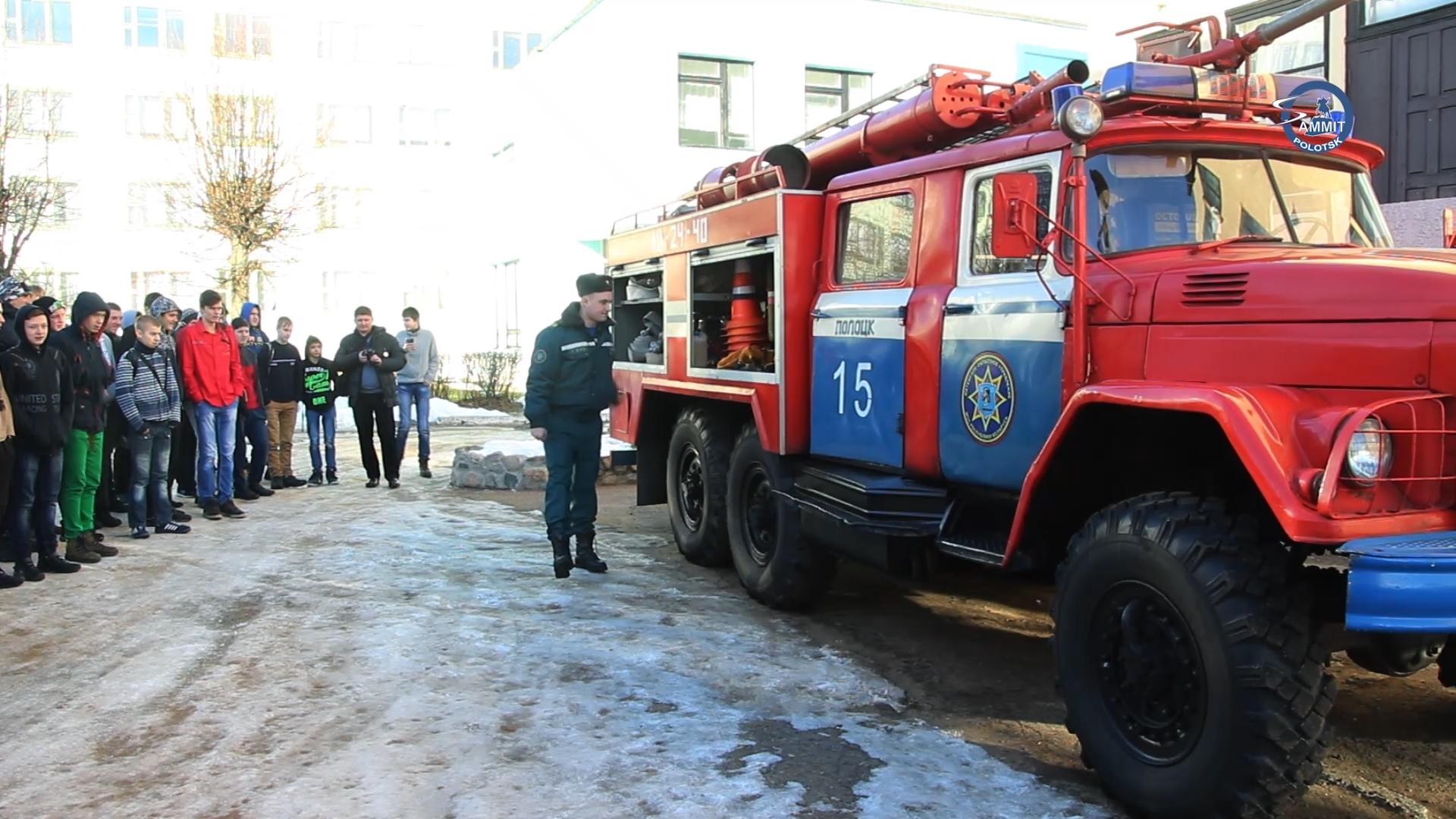 Полоцкие пожарные проводят акцию «Безопасность — в каждый дом»