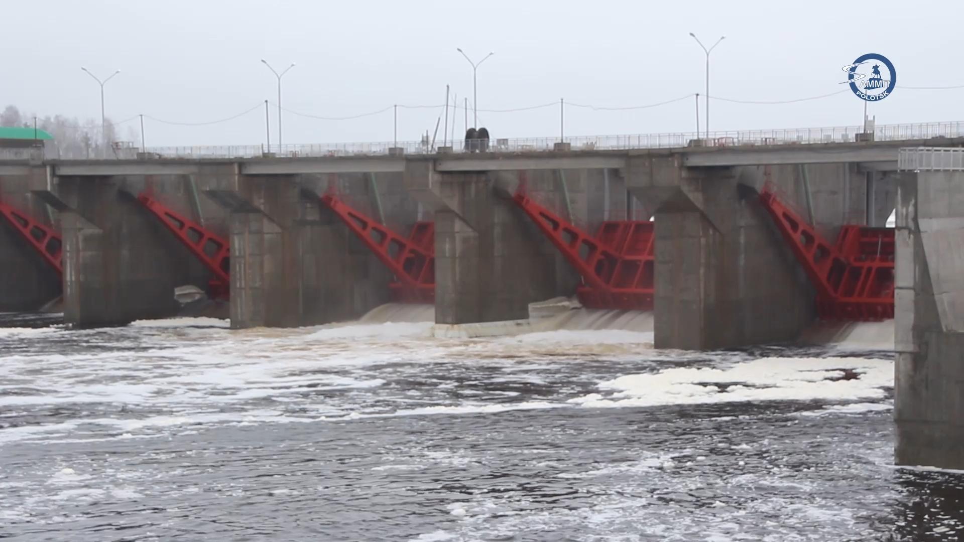 Полоцкая ГЭС выдала первую мощность в сеть. Эксклюзивный репортаж с гидроэлектростанции