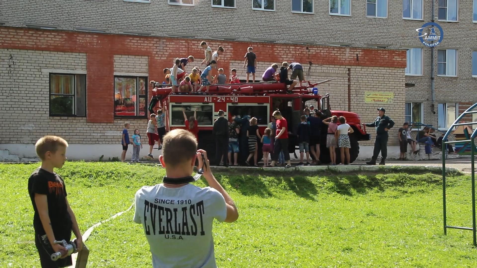 На Полотчине проходит республиканская акция «Каникулы без дыма и огня»