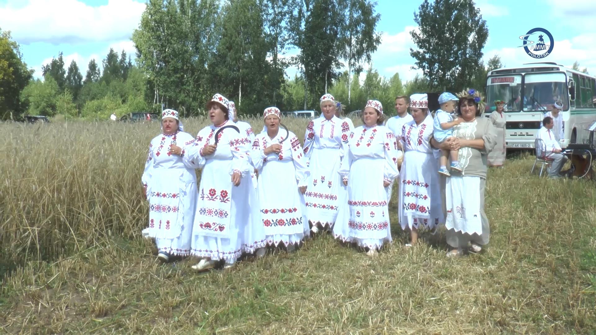 На Полотчине началась уборочная кампания