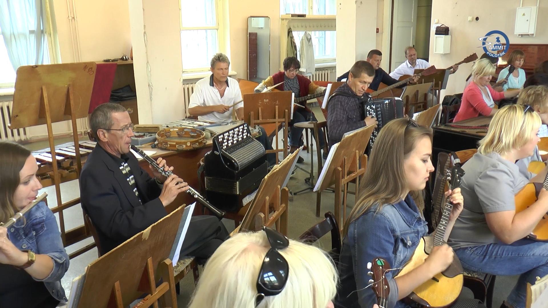 Полочане написали песню ко Дню рождения города