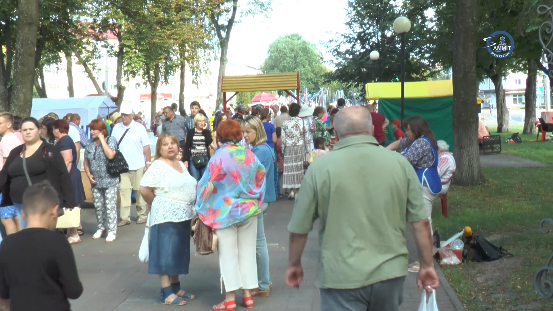 Как организованы торговля и охрана порядка в праздничные дни в Полоцке?
