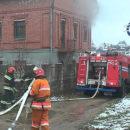 В Полоцке сегодня горел жилой дом. Подробности пожара
