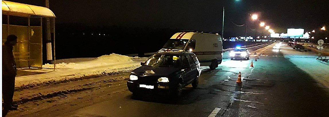 ДТП в Полоцке: утром возле «нового» моста сбили пешехода