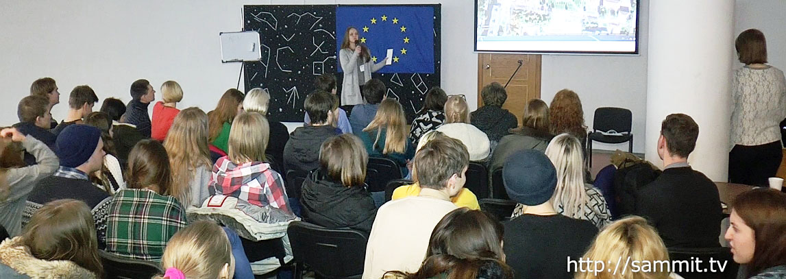 В Новополоцке провели хакатон световых инсталляций