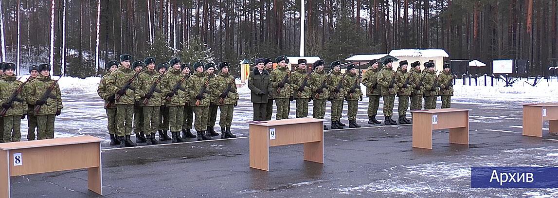 Полоцкие пограничники принимают пополнение. Кто претендует на элитную службу?