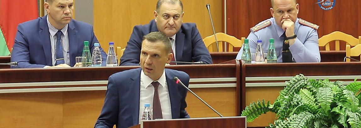 Полоцкие милиционеры встретились с членом Общественного совета при МВД Николаем Щёкиным