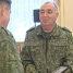 Председателю Полоцкого райисполкома Николаю Шевчуку вручили погоны подполковника запаса