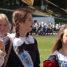 Сотни выпускников Полоцка колонной прошли по городу