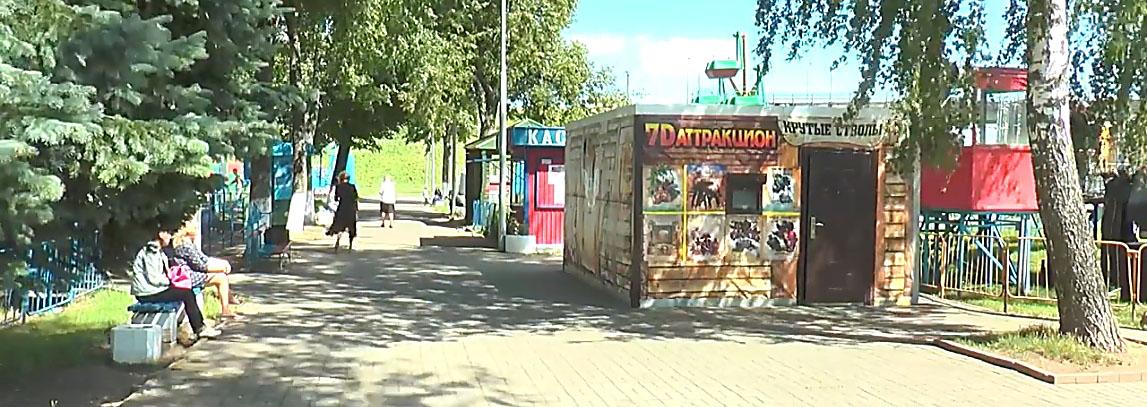 В парке культуры и отдыха Полоцка появился 7D-кинотеатр
