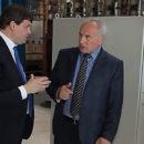 Глава облисполкома Николай Шерстнёв посетил «Полоцк-Стекловолокно»