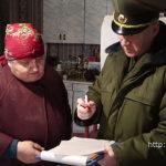 Спасатели Полотчины провели рейд по выявлению фактов выжигания сухой травы