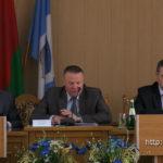 Начальник управления охраны правопорядка МВД Дмитрий Курьян встретился с полоцкими милиционерами