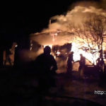 На пожаре в Полоцком районе погибли два человека