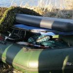 Пограничники задержали литовца с лодкой и электровелосипедом