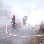 Спасатели рассказали о двух пожарах в Полоцком районе, которые случились 10 апреля